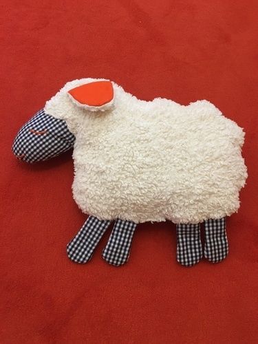 Makerist - Niedliches Kuschelschaf für meinen Enkel - DIY-Projekte - 1