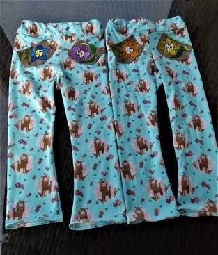 ich habe für meine Enkelkinder (Zwilinge) Hosen genäht