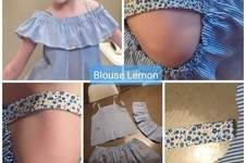 Makerist - Blouse Lemon fille 12 ans  - 1