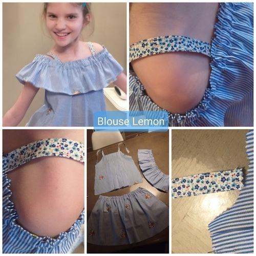 Makerist - Blouse Lemon fille 12 ans  - #makeristalamaison - 1