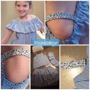 Blouse Lemon fille 12 ans
