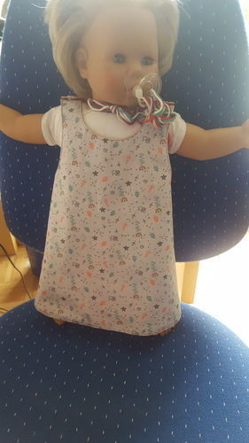 Makerist - Babykleid,Schürzenkleid Gr. 62, SM von Trash Monstarz. - Nähprojekte - 1