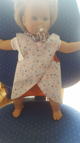 Makerist - Babykleid,Schürzenkleid Gr. 62, SM von Trash Monstarz. - Nähprojekte - 2