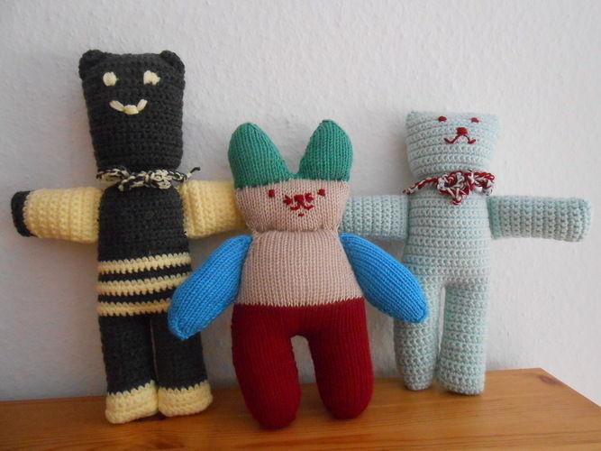 Makerist - Häschen und Bären - Häkelprojekte - 1