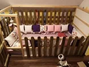 Makerist - Bettumrandungen fürs Babybett - 1