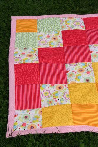 Makerist - Meine erste Patchwork-Decke  - Nähprojekte - 2