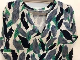 Prülla  Shirt Silia, Viskose mit 10% Leinen von Stoffe.de,