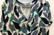 Makerist - Prülla  Shirt Silia, Viskose mit 10% Leinen von Stoffe.de, - 1