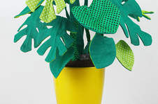 Makerist - Frieda Monstera aus Stoff - 1
