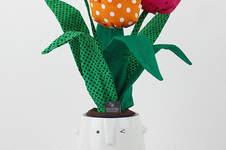 Makerist - Ein Strauß Tulpen aus Stoff - 1