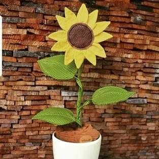 Makerist - Sonnige Sonnenblume  - 1