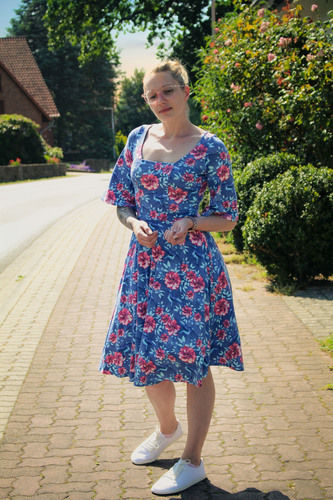 Makerist - Sommerkleid Jersey - Nähprojekte - 1