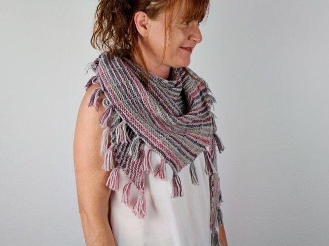 Makerist - Mika shawl - Knitting Showcase - 1