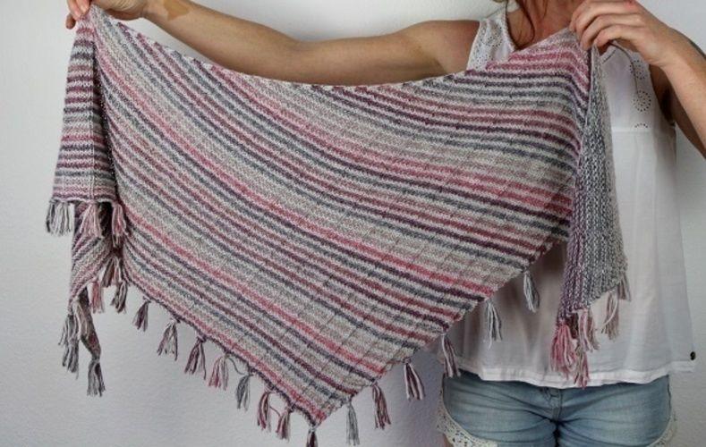 Makerist - Mika shawl - Knitting Showcase - 3
