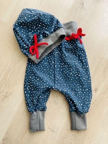 Makerist - Hoodiehase - Schnullertierchen mit passender Pumphose und Mütze - Nähprojekte - 2