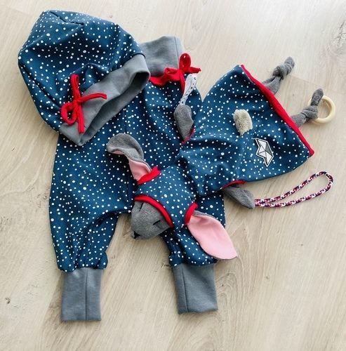 Makerist - Hoodiehase - Schnullertierchen mit passender Pumphose und Mütze - Nähprojekte - 3