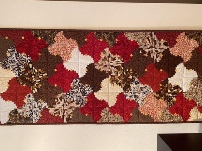 Makerist -  Chiligeschmack Wandbehang - Patchwork-Projekte - 1