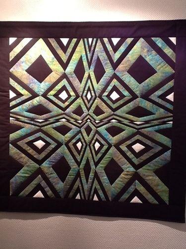 Makerist - OP-Art Quilt Wandbehang - Patchwork-Projekte - 1