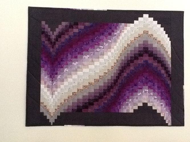 Makerist - Barghello in lila - Patchwork-Projekte - 1