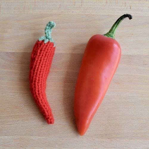 Makerist - Chilli Pepper - Knitting Showcase - 1