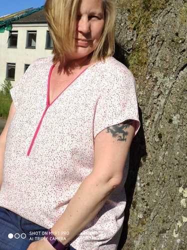 Makerist - Bluse Rosanne von SchnittmusterLounge - Nähprojekte - 1