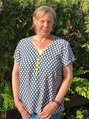 Makerist - Bluse Rosanne von SchnittmusterLounge - Nähprojekte - 2
