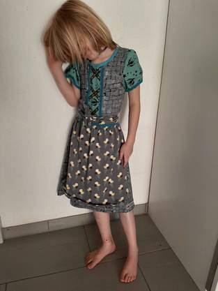 Makerist - Dirndl in Grösse 134 für schlankes Kind - 1