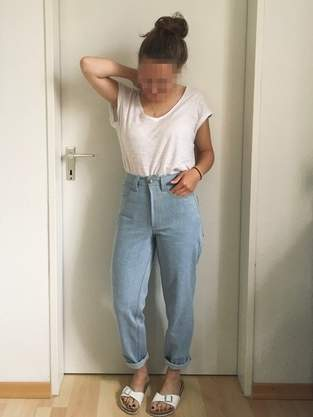 Jeans 'Mom Jeans'