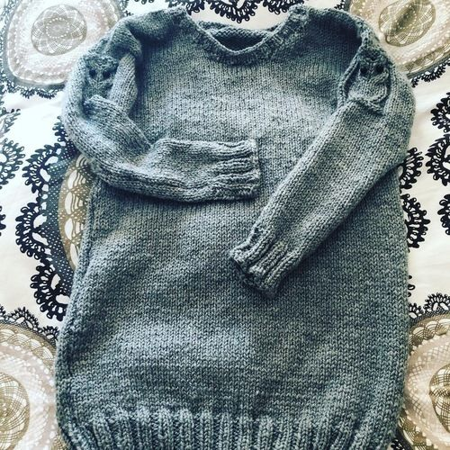 Makerist - knitted Jumper with owls  - Knitting Showcase - 1