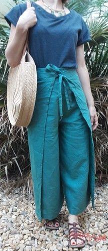 Makerist - Jupe culotte portefeuille en Lin (Camimade) - Créations de couture - 2