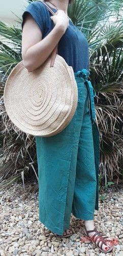 Makerist - Jupe culotte portefeuille en Lin (Camimade) - Créations de couture - 3