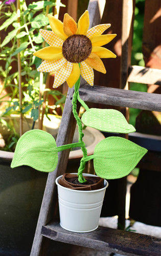 Makerist - Eine Sonnenblume für mich!  - Nähprojekte - 1
