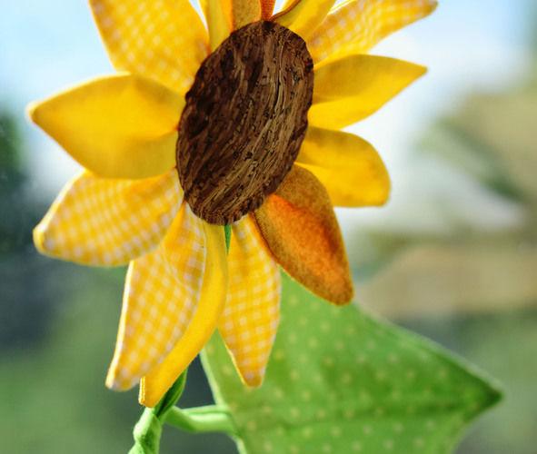 Makerist - Eine Sonnenblume für mich!  - Nähprojekte - 2