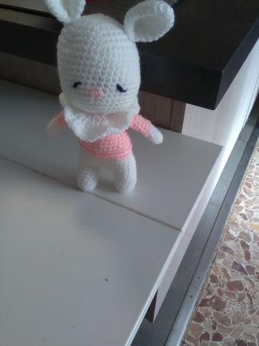 Makerist - Lulu le gentil lapinou - Créations de crochet - 1