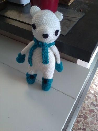 Makerist - Ours polaire d'après Leucémie Création - Créations de crochet - 1