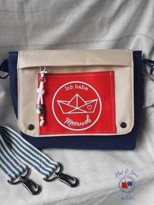 Makerist - Messenger Bag von Maker Mauz - 1