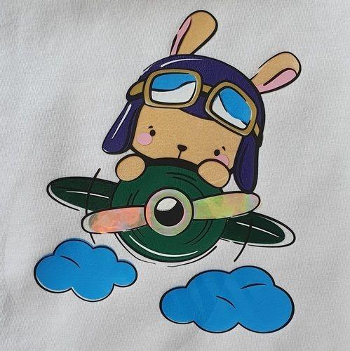 """Makerist - Plotterdatei """"kleiner Pilot"""" - Textilgestaltung - 1"""