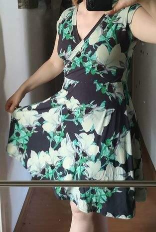 Kleid Marke Eigenbau mit mies und Moos modaljersey