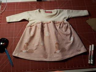 Makerist - Winterliche Ava von © Petit et Jolie Design  für großes und kleines Mädchen - 1