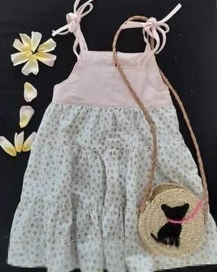 Robe Helena en coton pour enfant