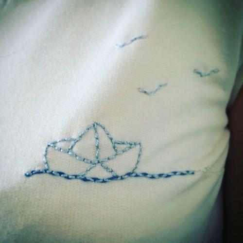 """Makerist - Robe pia """"petit bateau"""" - Créations de couture - 3"""