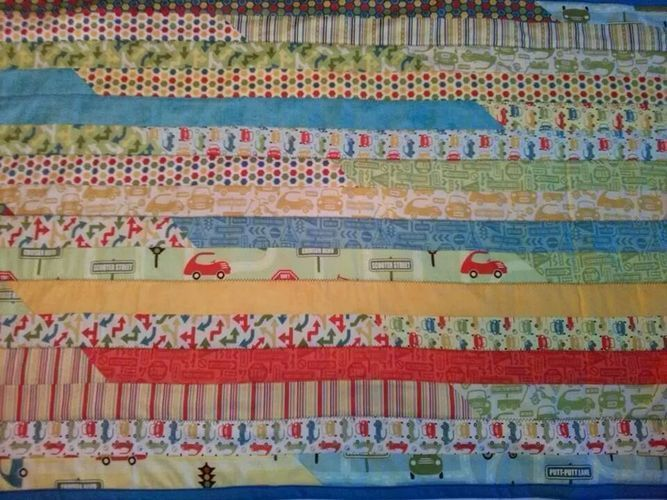 Makerist - Patchworkdecke aus einer Jelly Roll - Nähprojekte - 2