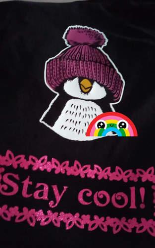 Makerist - Pinguin Shirt (Plot) als Geburtstagsgeschenk für meine Mutter - 1