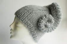 Makerist - Mütze mit angestrickter Schnecke °Erin° - 1