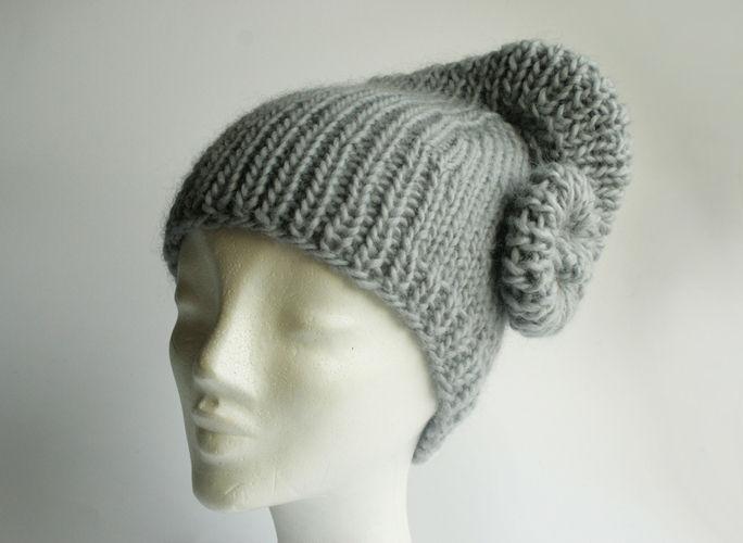 Makerist - Mütze mit angestrickter Schnecke °Erin° - Strickprojekte - 2