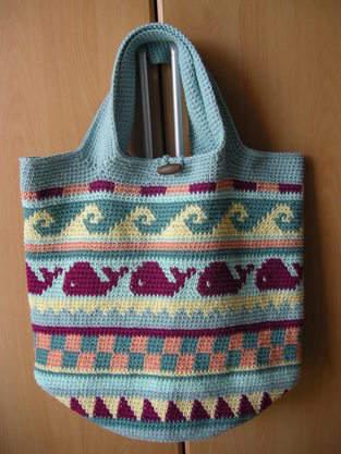 Makerist - Strandtasche nach dem CAL von schoenstricken.de - 1