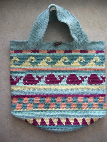 Makerist - Strandtasche nach dem CAL von schoenstricken.de - Häkelprojekte - 2