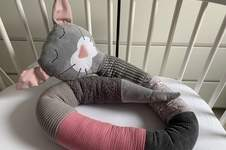 Makerist - Bettschlange für Bauchzwergin - 1