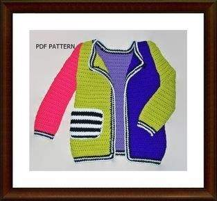 Makerist - Colorful girls sweater - 1