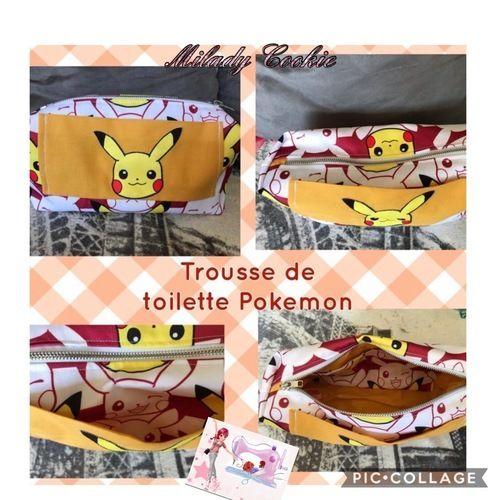 Makerist - Trousse de toilette Pokémon et 2 chevaux - Créations de couture - 1